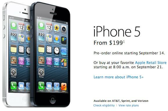 อัพเดทราคา iPhone 5 (ไอโฟน 5) เครื่องหิ้วล่าสุดในไทย!