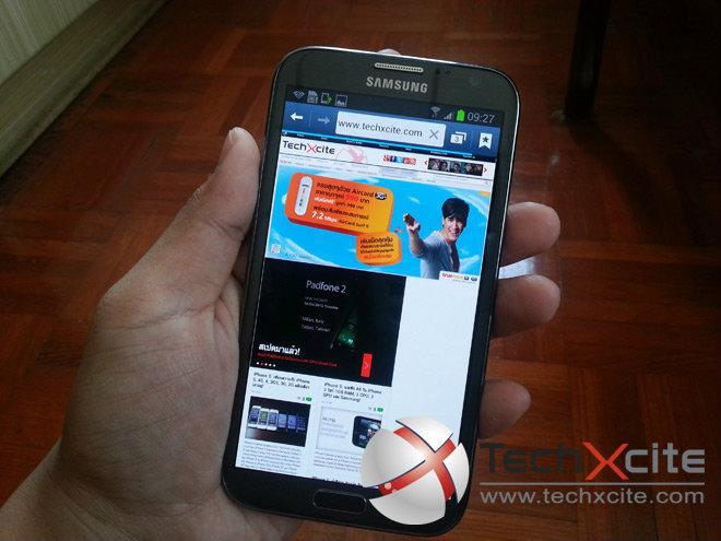 Review: Samsung Galaxy Note 2 ครบทุกฟีเจอร์ใหม่ๆโดนใจทุกคน!