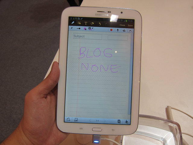 ทดลองจับ Samsung Galaxy Note 8.0