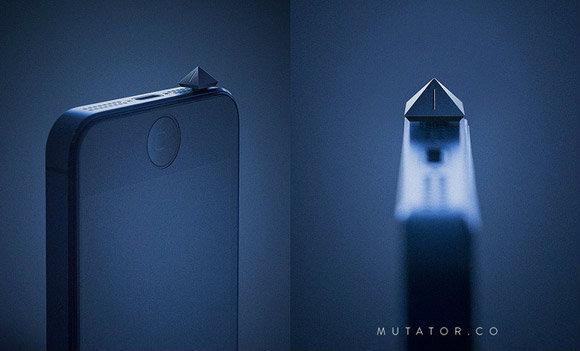 กริบ! สั่ง iPhone ให้เงียบด้วย Mutator จาก Kickstarter