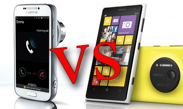 ตัวต่อตัว ! Lumia 1020 vs S4 Zoom