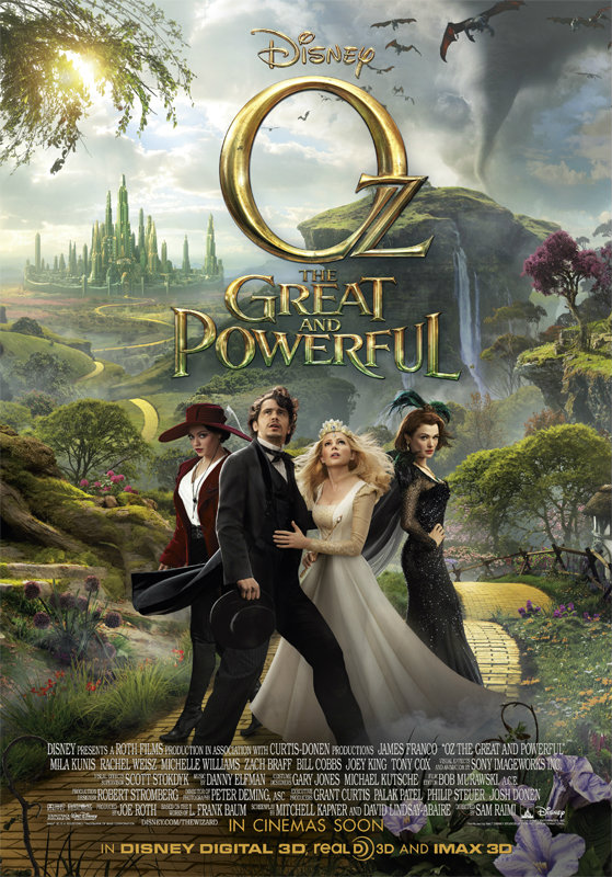 หนัง Oz The Great and Powerful