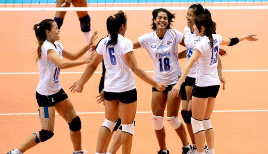สดที่นี่!วอลเลย์บอลหญิงไทยพบไต้หวัน