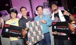 """เอชพีมอบรางวัล HP Designjet ให้ผู้ชนะเลิศ ในการแข่งขัน """"Cut & Paste (Thailand)"""""""