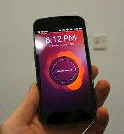 มือถือ Ubuntu ท้าชน iPhone ,Android