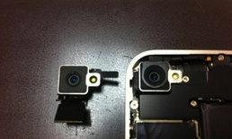 อีกหนึ่งที่เจอ ใน iPhone 4  สีขาว กล้องและเซ็นเซอร์ มีการเปลี่ยนแปลงตำแหน่ง